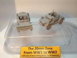 2 x Damiler dingo scout cars each with 2 x crew Set B