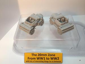 2 x Damiler dingo scout cars each with 2 x crew set C
