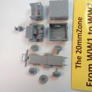 Bedford MWD G.S. 1500cwt truck closed cab. Canvas tilts +