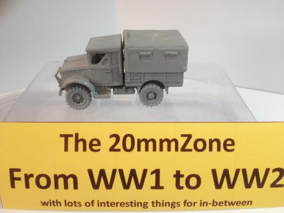 Bedford MWD 1500Cwt radio truck closed cab, under canvas tilt