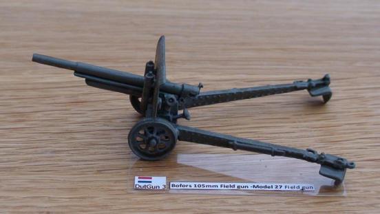 Bofors 105mm Field gun -Model 27 Field gun,
