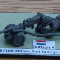 Solothurn S18/100 20mm Anti tank gun with