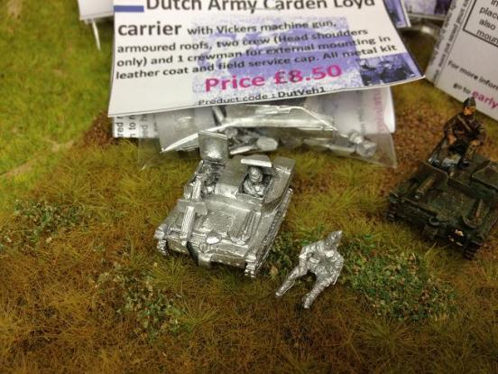 Carden Loyd carrier with vickers machine gun