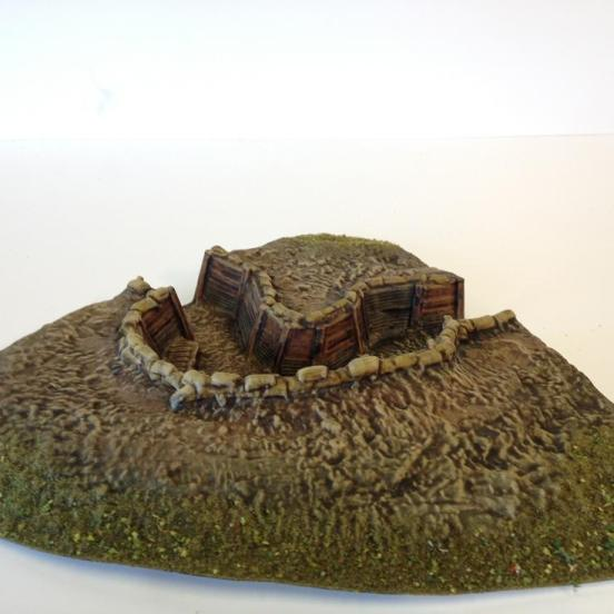 """1 x British Trench """"Turn in"""" section with Paradoe & firing step"""