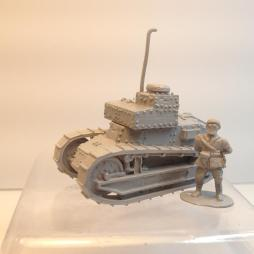 Renault FT 17 TFS Wireless Command tank with officer