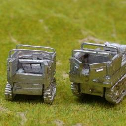 Lorraine Carrier 38L (APC) Revised kit with armoured trailer