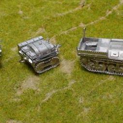 Lorraine Carrier Fuel bowzer trailer  supplied separately