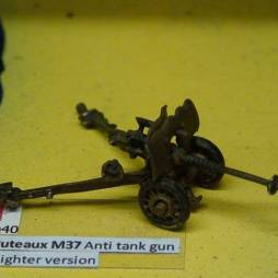 25mm Puteaux M37 Anti tank gun - lighter