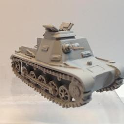 Panzer I Befehlswagen Command Tank with commander