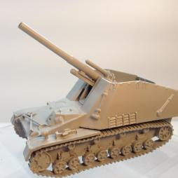 Hummel 150mm SPG 2 crew and accessories
