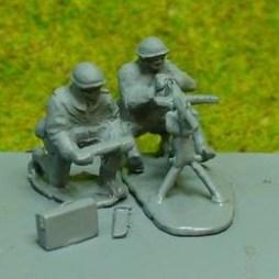 St. Etienne Heavy Machine Gun on Tripod with