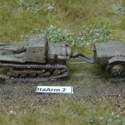 CV 33 Tankette with Flame thrower and trailer