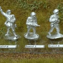 1 x Infantryman firing Barretta SMG