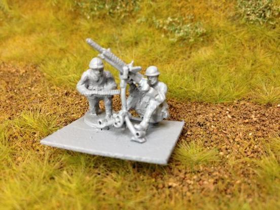 Model 92 Heavy machine gun on tripod AA mount - available soon
