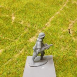 Infantry man with Submachine gun