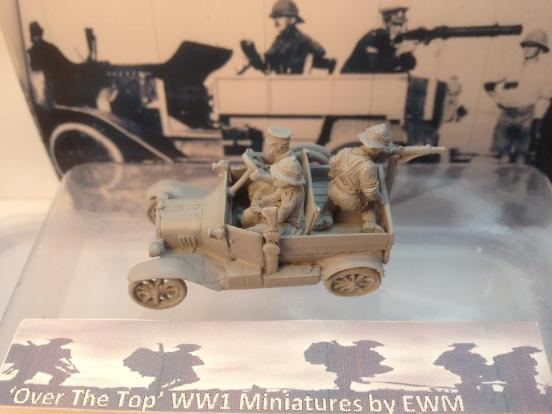 LCP Kit 1 features a Model T LCP truck, 3 crewman, doors