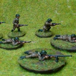 Set of 6 dismounted Polish Cavalry in different positions