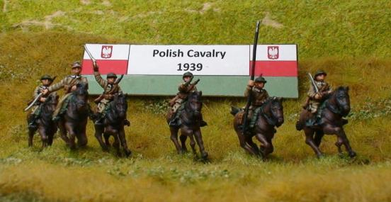 1 x Cavalry Ulan - Mounted hands on Reins, & rifle