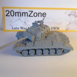 M26 Pershing Heavy Tank plus commander + .50 HMG