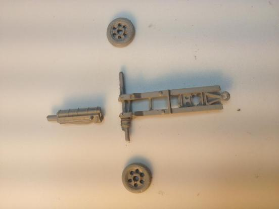 2 x British Airborne 75mm Pack Howitzers