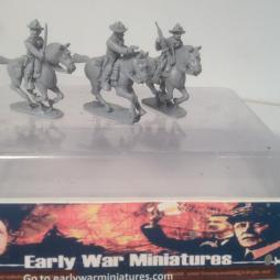 3 x multi-pose US cavalry multi-pose figures with options