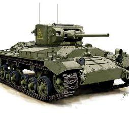 Valentine Mk II - 2 models in a box