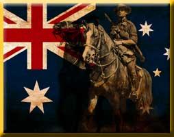 Australian light horse Cavalry
