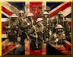 Highlander Infantry squads and teams