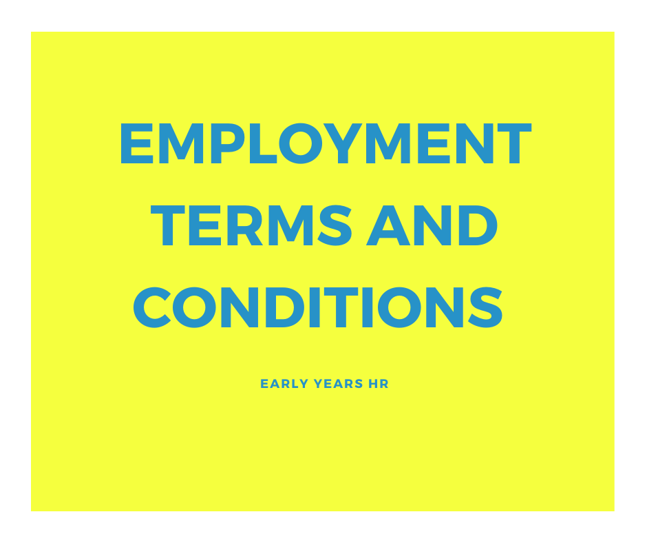 Changes to Employment Contracts April 2020