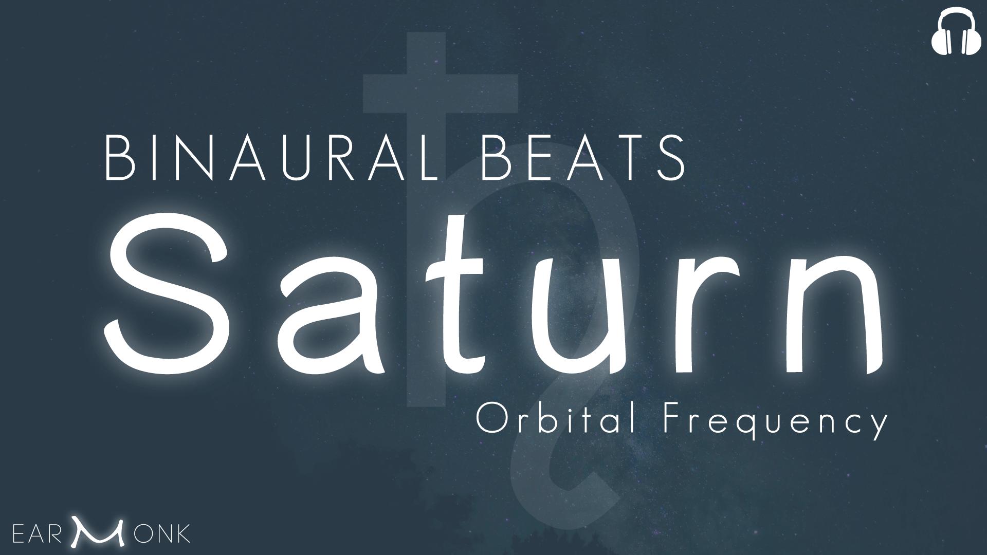 binaural beats saturn frequency