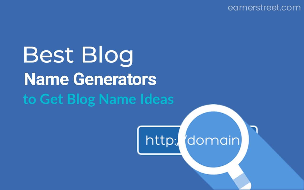5 Free Blog Name Generators 2021
