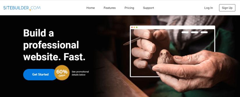 SiteBuilder - Best drag and drop website builder