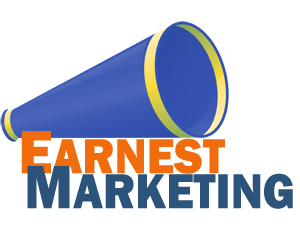logo for Earnest Marketing