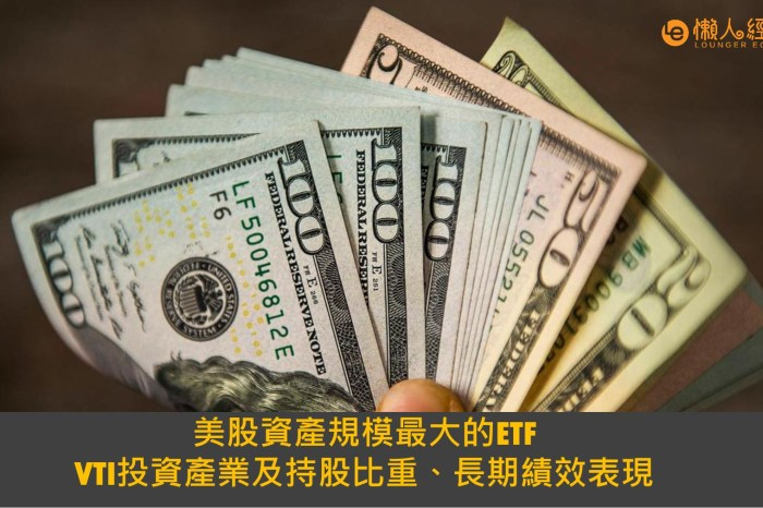 VTI介紹:全球最大ETF,長期持有賺錢嗎?風險分析和替代選擇?-vti etf