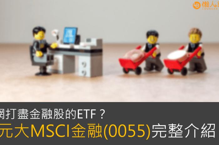 0055介紹:一次買進18檔金融股!投資有風險嗎?-元大MSCI金融ETF