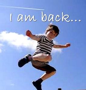 I'm back yet again