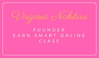Virginia Nakitari Founder Earn Smart Online Class