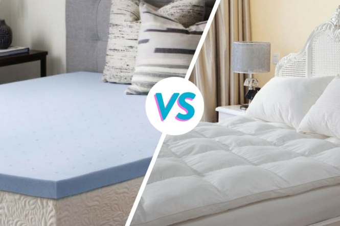 Memory Foam Mattress Toppers Vs Pillow Top Pads Which One Is Better