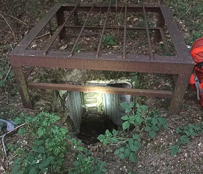 Microadventure-Bunkereinganga