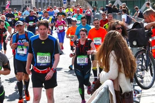 Paris Marathon 2016 Carola Keßler Place de la Bastille 4