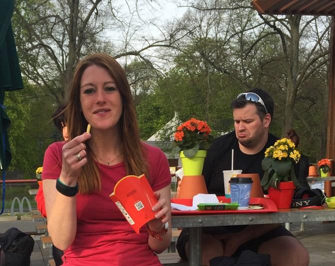 Mammutmarschtraining 7 McDonalds Bernau