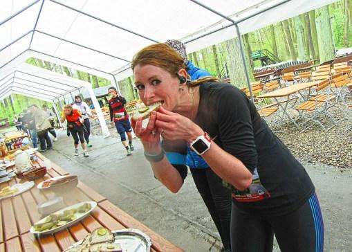 Spreewaldmarathon 2016 Lübbenau Schmalzbrot Nomnom