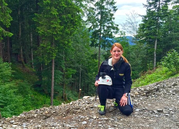 Canyoning Stuibenfälle Caro fertig
