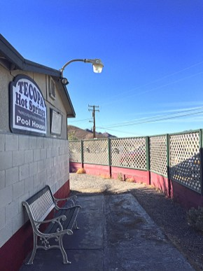 Tecopa Hot Springs Pool House