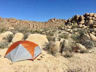 Joshua Tree Backcountry Camping