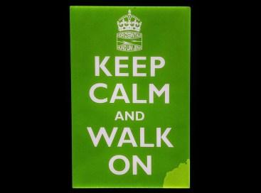 Horizontale Keep calm