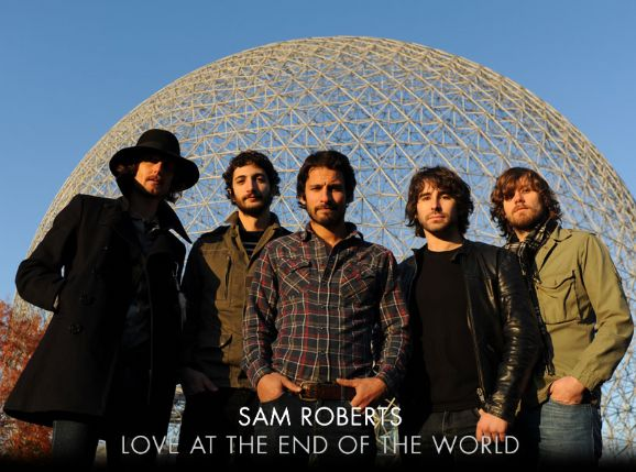 Sam Roberts tackles gun violence on Love at the End of the World