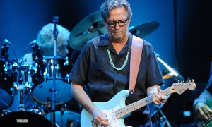 Eric Clapton & Steve Winwood Perform At Royal Albert Hall In London