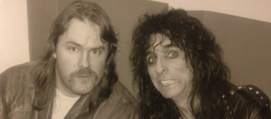 Backstage with the King of Nasty Rock, Alice Cooper