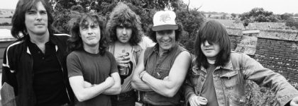 AC/DC in Vancouver, sipping tea at the Four Seasons